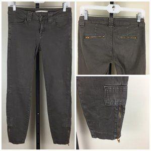 VINCE Zip Pockets & Ankle Slim Fit Skinny Jeans